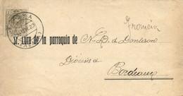 """Ø 267 En Fajín De Impresos De Araya A Burdeos (Francia), El 3/5/1923. Mat. Fechador """"ARAYA/ALAVA"""". Llegada Al Dorso. Pre - 1889-1931 Kingdom: Alphonse XIII"""