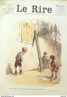 """REVUE """"LE RIRE""""-1923-225-POULBOT MIARKO GERBAULT MARS TRICK SENNEP NOB - Libri, Riviste, Fumetti"""