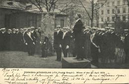 Sweden, STOCKHOLM, Tekniska Högskolan, Technical School (1903) Postcard - Suecia