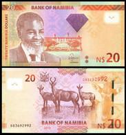 Namibia - 20 Dollars 2013 UNC Lemberg-Zp - Namibië