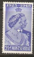 Montserrat  1949  SG 115  Silver Wedding  Mounted Mint - Montserrat