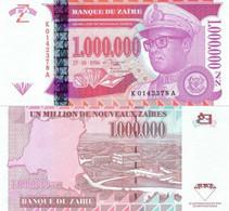 ZAIRE 1 000 000 N.Zaires 1996 10 25  P 79 UNC - Zaire