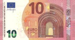 10 Euro - M. Draghi Serie FA - BULGARIA Plate F002 Perfect UNC - 10 Euro
