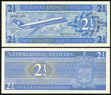 Netherlands Antilles - 2 1/2 Gulden 1970 UNC Lemberg-Zp - Antillas Neerlandesas (...-1986)