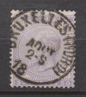 N° 41 SC. Bruxelles (Nord) Côte 40,00 € - 1883 Leopold II
