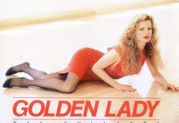Publicite Pour Les Bas & Collants : Golden Lady - Kim Basinger Porte Le Collant Lycra 15 - Artiesten