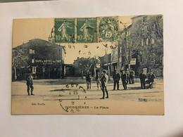 Ancienne Carte Postale-Var-pourrieres-la Place - Sonstige Gemeinden