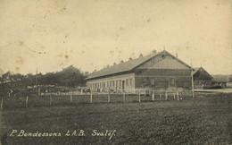 Sweden, SVALÖF, Per Bondessons Landtbruksaktiebolag (1910) Postcard - Suecia