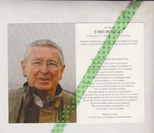 Joris Bossuyt-Van Neste, Harelbeke 1932, Kortrijk 2013 - Obituary Notices
