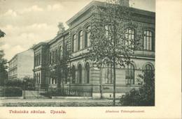 Sweden, UPSALA, Tekniska Skolan, Technical School (1899) Postcard - Suecia