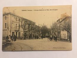 Ancienne Carte Postale-Vaucluse-sorgue-l'avenue(entrée De La Ville,côté D'Avignon) - Sorgues