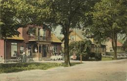 Sweden, HÖGANÄS Ö., Street Scene, Café (1915) Postcard - Suecia