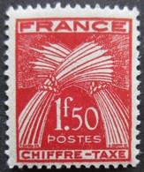 FRANCE Taxe N°71 Neuf ** - 1859-1955.. Ungebraucht