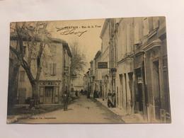 Ancienne Carte Postale-Vaucluse-pertuis-rue De La Tour - Pertuis