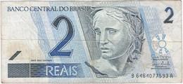 Brasil - Brazil 2 Reais 2001 Pk 249e Ref 226-2 - Brasil