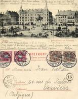 Sweden, MALMÖ, Hotell Kramer Och Stortorget (1903) Postcard - Suecia