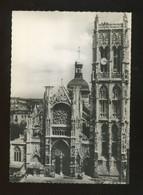Dieppe (76) : Eglise St Jacques - La Façade - Dieppe