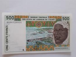 500 Fr De L'Afrique De L'Ouest NEUF Sénégal - West African States