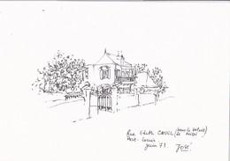 Rue Edith Cavel (sous Le Soleil De Midi) Port Louis Juin 73 . José - Port Louis