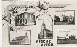 Aische-en-Refail ,multivues,Delhaize Le Lion,chapelle Croix Monet ,église ,chateau,(photo Gevaert) - Eghezée