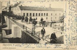 Sweden, LINKÖPING, Lijfgrenadierna Till Manöver (1903) Postcard - Suecia