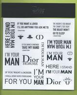 STICKER * I'M YOUR MAN * - Modernes (à Partir De 1961)
