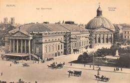 Berlin, Opernhaus, Hedwigs Kirche, Kutschen - Other