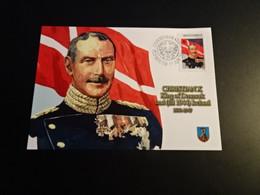 M10796- Card 2004 - Montserrat - Christian X - King Of Denmark And Iceland - WW2
