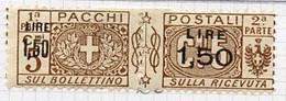 Italie - Italy - Italien Colis Postaux 1923-25 Y&T N°CP22 - Michel N°PK22 * - 1,50ls3c Pacchi+Postali - Pacchi Postali