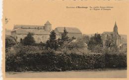 OSSOGNE  Environ D 'Havelange   La Vieille Ferme-chateau Et L'église D ' Ossogne - Havelange