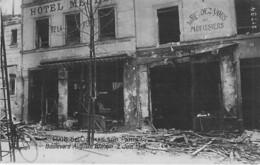 EVENEMENT Catastrophe ( MILITARIA ) PARIS Raid De GOTHAS 1918 Bld Auguste Blanquer - CPA Photo Event Isaster Katastrophe - Rampen