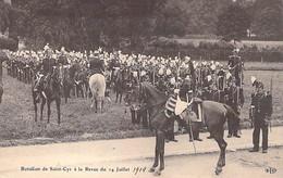 EVENEMENT Event Veranstaltung - PARIS ( MILITARIA ) Bataillon De SAINT CYR à La Revue Du 14 Juillet 1914 - CPA - Seine - Andere