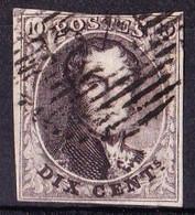 N° 3   OBL. 4 MARGES   BELLE OBL.  1849 - 1849-1850 Médaillons (3/5)
