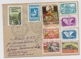 ANTARCTIC Komsomolskaya Station 3 SAE Base Pole Mail Cover USSR RUSSIA - Bases Antarctiques