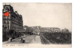 01217-LE-76-DIEPPE-Hôtel Royal------------animée - Dieppe
