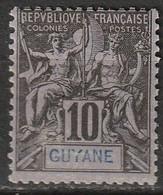 Guyane N° 34 - Ungebraucht