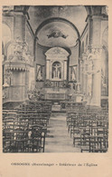 Ossogne  ( Havelange  )  Intérieur De L'église - Havelange