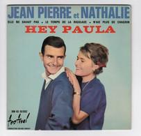 EP 45 TOURS JEAN PIERRE Et NATHALIE HEY PAULA DM 45 50 002 FESTIVAL En 1963 BIEM - Discos De Vinilo