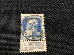 1905. Leopold Ll, Grosse Barbe,  OBP; 76. ( BRUXELLES- EFFETS DE COMMERCE 1907 ) T.T.B ! - Otros