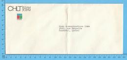 Enveloppe Commercial - CHLT 63 AM , Telemedia Sherbrooke Que - Facturas & Documentos Mercantiles