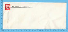 Enveloppe Commercial - Mont Ste-Anne RMM, Revue Missionnaire Mariannhil Sherbrooke Que - Facturas & Documentos Mercantiles