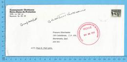 Enveloppes Commerciale 1993  - La Corporation Archiépiscolale De Sherbrooke - Cartas