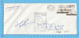 Enveloppes Commerciale 1988  - Monsieur Chaudron Sherbrooke Return To Sender - 1952-.... Reinado De Elizabeth II