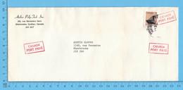 Enveloppes Commerciale - Canada Port Payé, Atelier Poly-Tech Inc Sherbrooke Que - 1952-.... Reinado De Elizabeth II