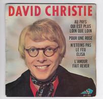 EP 45 TOURS DAVID CHRISTIE AU PAYS QUI EST PLUS LOIN QUE LOIN EP 1264 DISC AZ - Discos De Vinilo