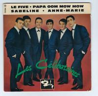 EP 45 TOURS LES CELIBATAIRES LE FIVE BARCLAY 70 554 En 1963 BIEM - Discos De Vinilo