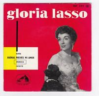 EP 45 TOURS GLORIA LASSO BUENAS NOCHES MI AMOR PATHE 7 EGF 299 BIEM - Discos De Vinilo