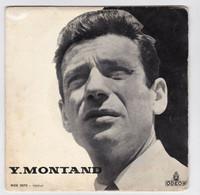 EP 45 TOURS YVES MONTAND LA MARIE-VISON En 1956 ODEON MOE 2070 BIEM - Discos De Vinilo