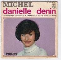 EP 45 TOURS DANIELLE DENIN MICHEL PHILIPS 437 188 En 1966 BIEM - Discos De Vinilo
