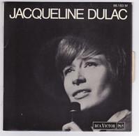 EP 45 TOURS JACQUELINE DULAC LORSQU'ON EST HEUREUX RCA VICTOR 86.183 Languette - Discos De Vinilo